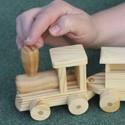 Деревянные игрушки разные
