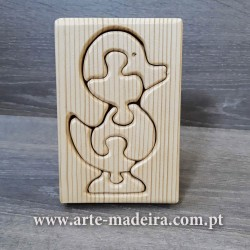 Wooden puzzle