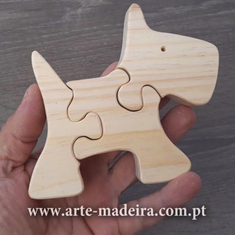 Puzzle em madeira