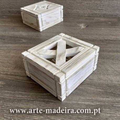 Cotton swab box
