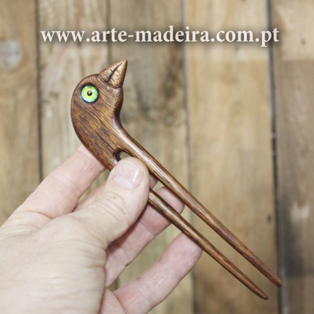Hairpin iroko wood