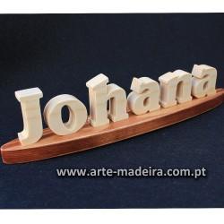 Nome de madeira
