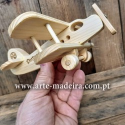 Plane wooden toy